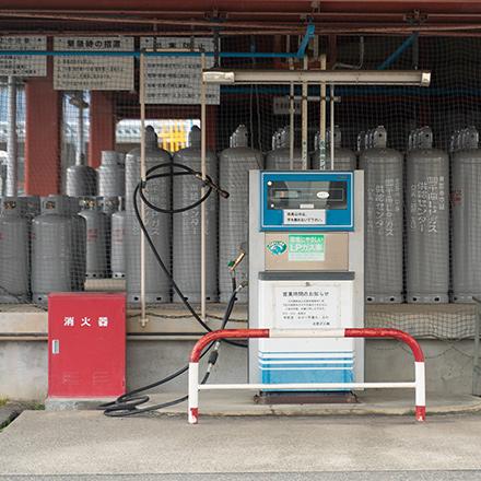 LPガス自動車用オートスタンド