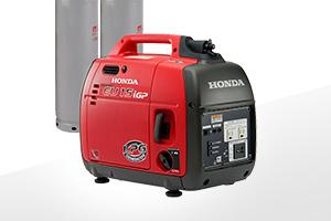 防災向け低圧LPガス発電機