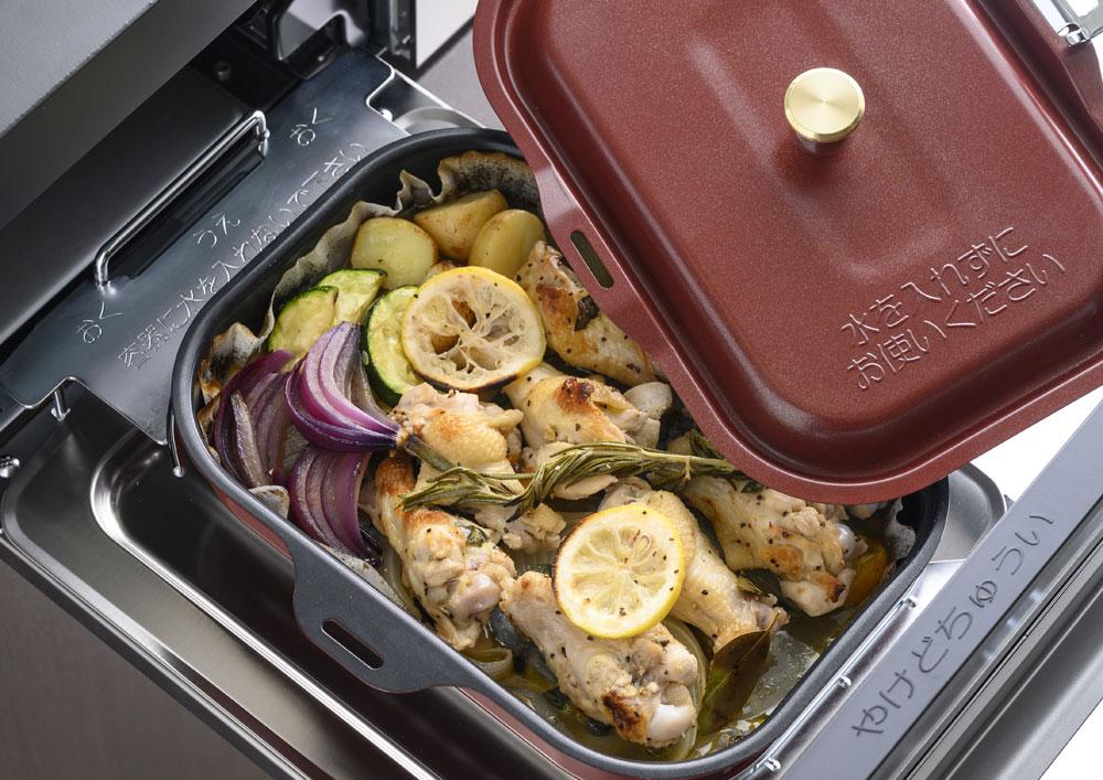 ラ・クックを使って多彩な料理が可能!