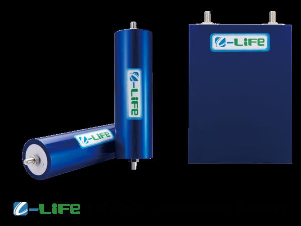 安定動作のリン酸鉄リチウムイオンバッテリー。
