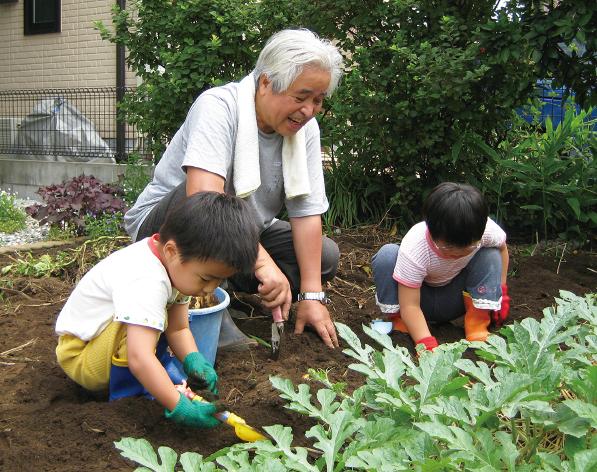 ご家庭の庭をはじめ、家庭菜園や畑など